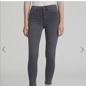 Rag and Bone High Ankle Rise Skinny Jean
